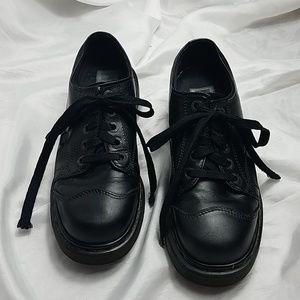 Vintage Dr Martens 8651 Platform Lug Sole Shoes 8